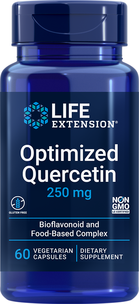 Optimized Quercetin, 250 mg, 60 vegetarian capsulesnohtin