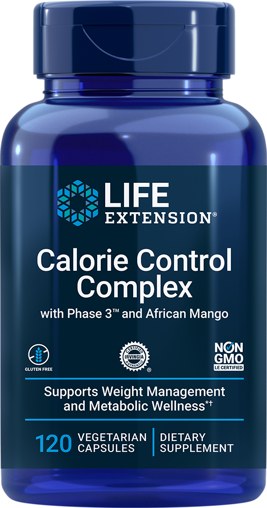Optimized Irvingia with Phase 3™ Calorie Control Complex 120 vegetarian capsules