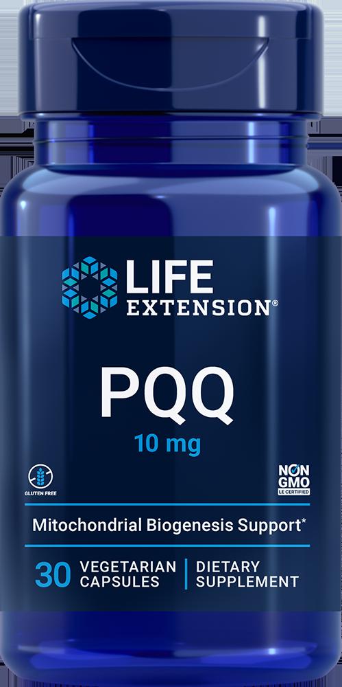 PQQ Caps with BioPQQ®, 10 mg, 30 vegetarian capsules