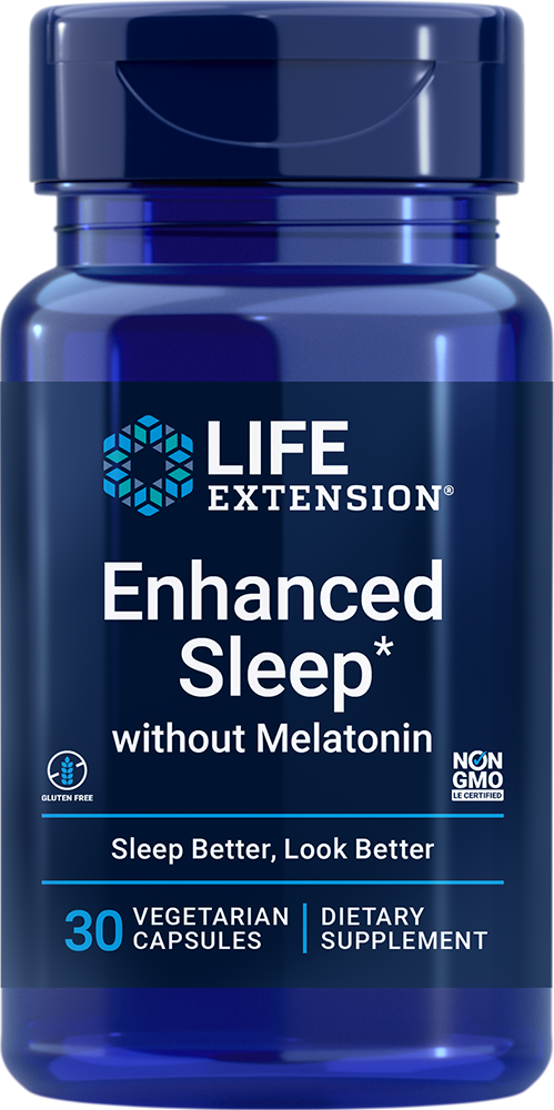 Enhanced Natural Sleep® without Melatonin, 30 capsulesnohtin