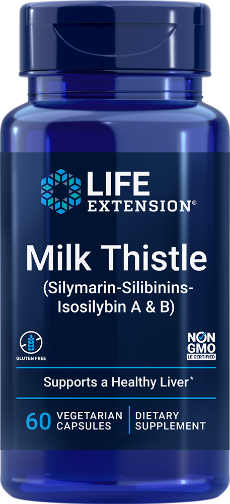 European Milk Thistle, 60 vegetarian capsules