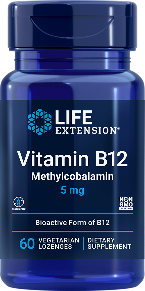 Methylcobalamin 5 mg 60 vegetarian lozenges