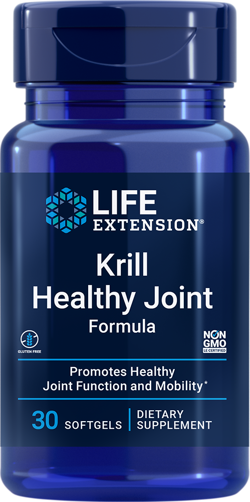 Krill Healthy Joint Formula, 30 softgels