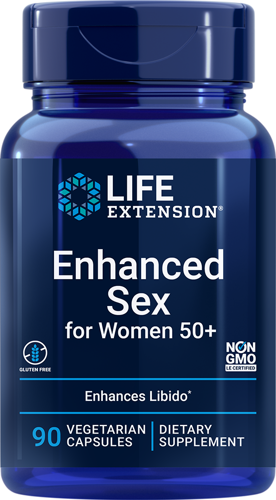 Advanced Natural Sex for Women® 50+, 90 vegetarian capsules
