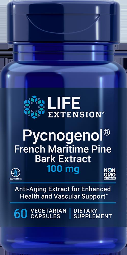 Pycnogenol®, 100 mg, 60 vegetarian capsulesnohtin
