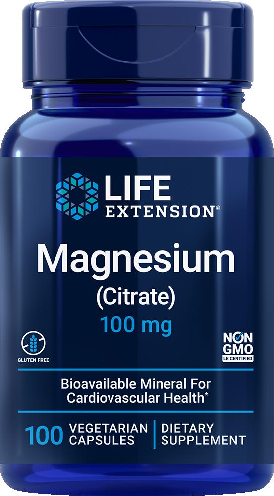 Magnesium Citrate 160 mg 100 vegetarian capsules