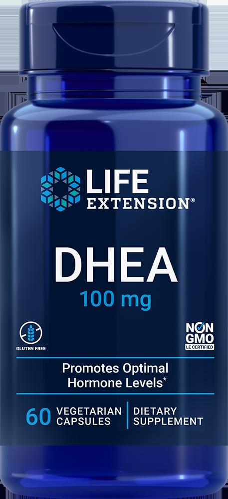 DHEA 100 mg 60 vegetarian capsules
