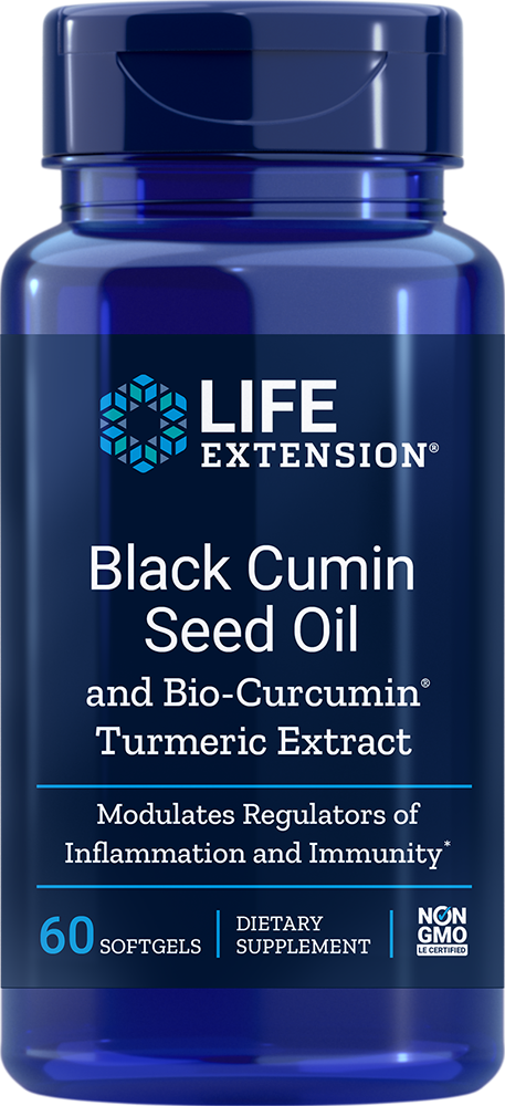 Black Cumin Seed Oil with Bio-Curcumin�, 60 softgels