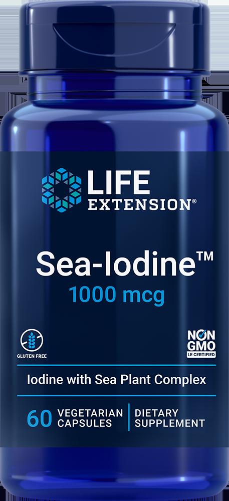 Life Extension Sea-Iodine? - 1000 mcg (60 Vegetarian Capsules)