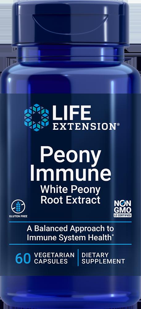 Peony Immune 60 vegetarian capsules