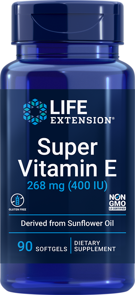 Natural Vitamin E 400 IU 90 softgels