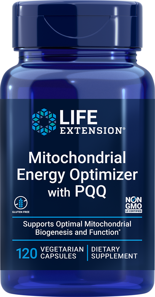 Mitochondrial Energy Optimizer with BioPQQ®, 120 capsulesnohtin