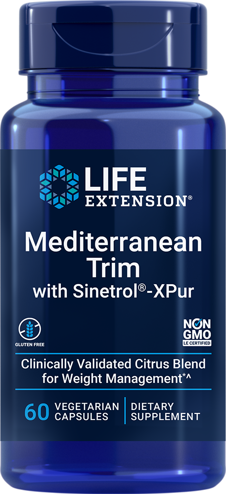 Mediterranean Trim with Sinetrol™-XPur, 60 vegetarian capsulesnohtin