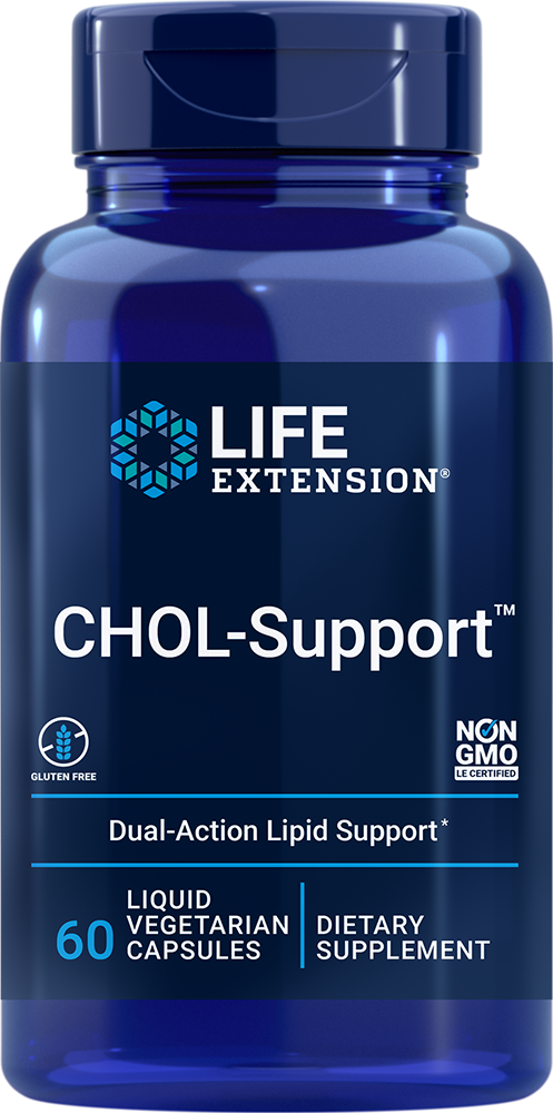 Life Extension CHOL-Support? (60 Liquid Vegetarian Capsules)