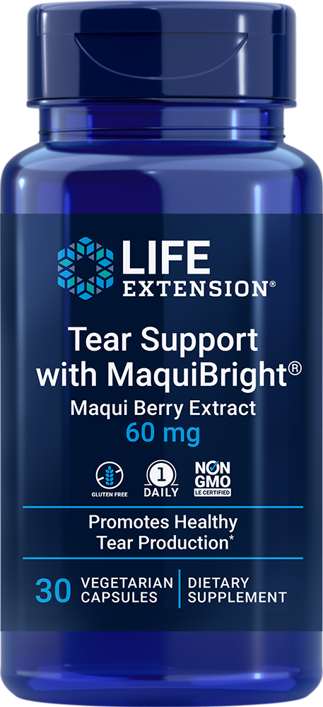 Tear Support With Maquibright 60 Mg 30 Caps Maqui Berry