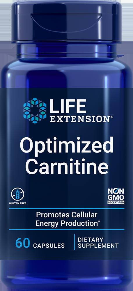 Optimized Carnitine, 60 vegetarian capsules