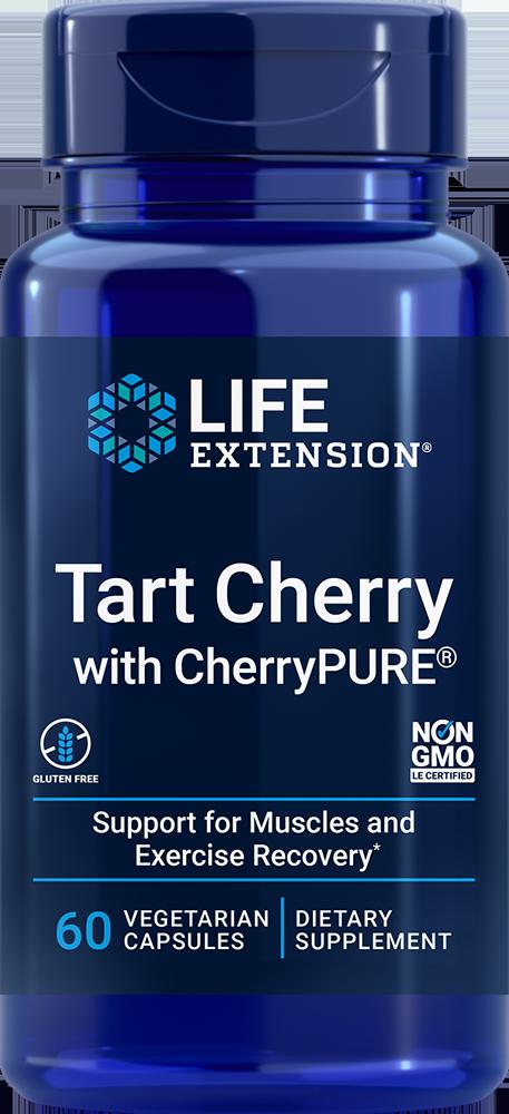 Tart Cherry with CherryPURE®, 60 vegetarian capsulesnohtin