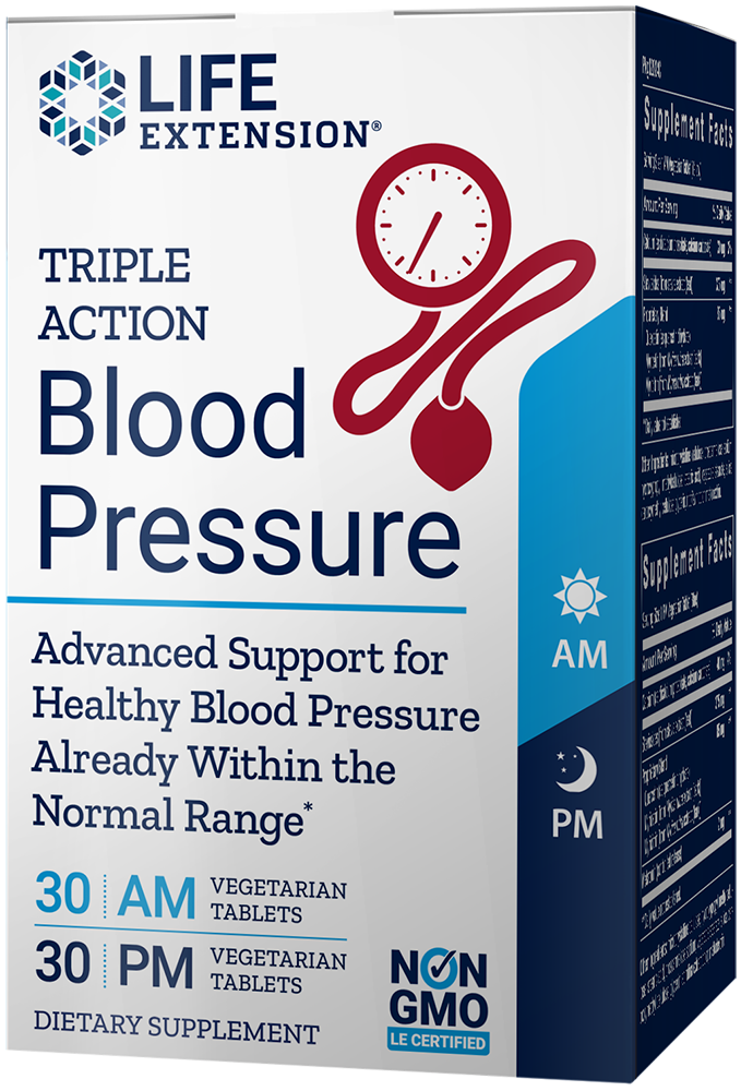 Triple Action Blood Pressure, 60 vegetarian tabletsnohtin