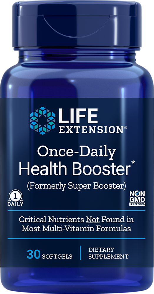 Once-Daily Health Booster, 30 softgels