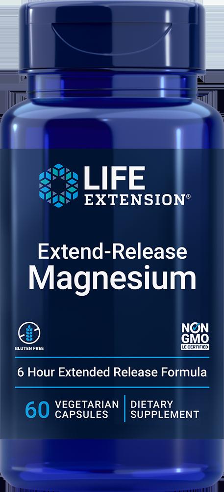 Extend-Release Magnesium, 60 vegetarian capsules