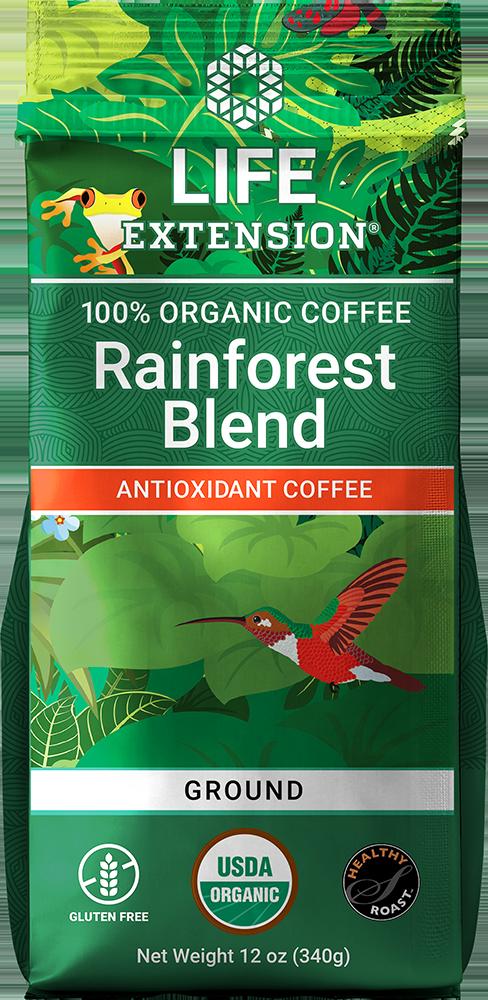 Rainforest Blend Ground Coffee, 12 oz (340 g)