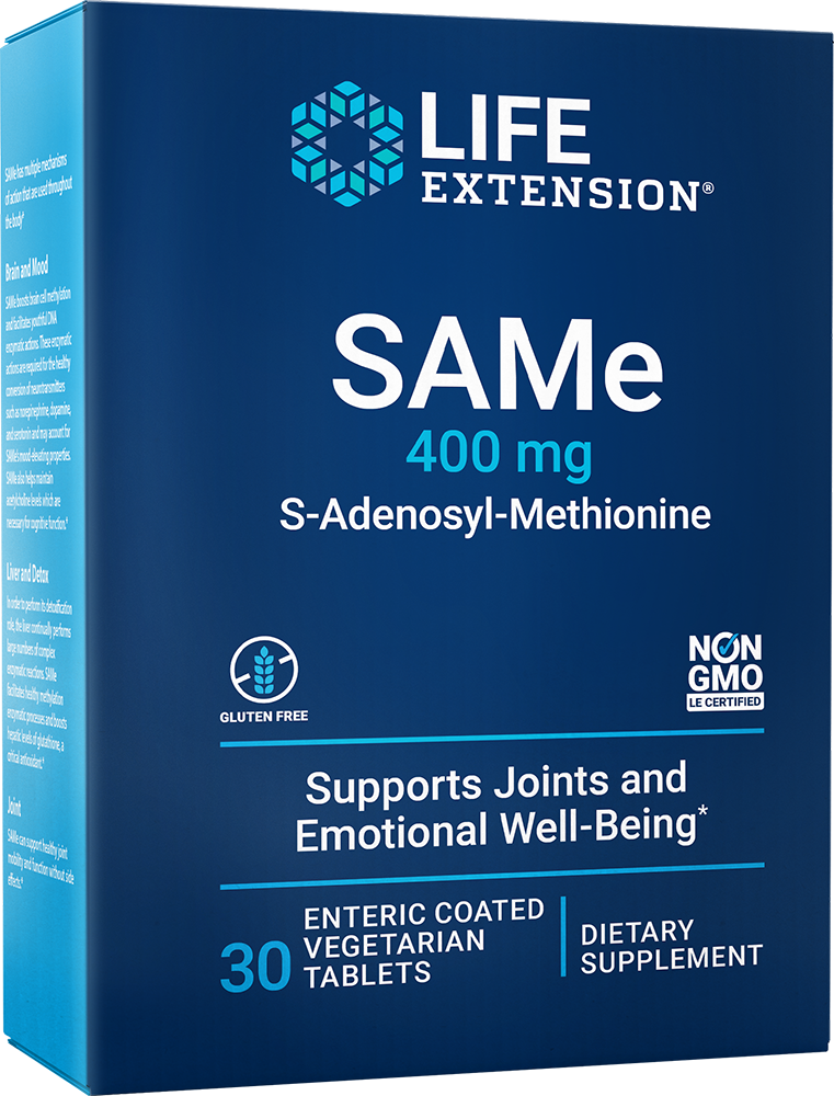 same s adenosyl methionine 400 mg 30 enteric coated tablets