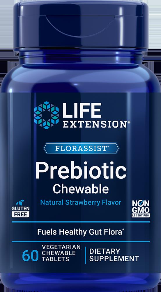 FLORASSIST Prebiotic Chewable, 60 chewable tablets