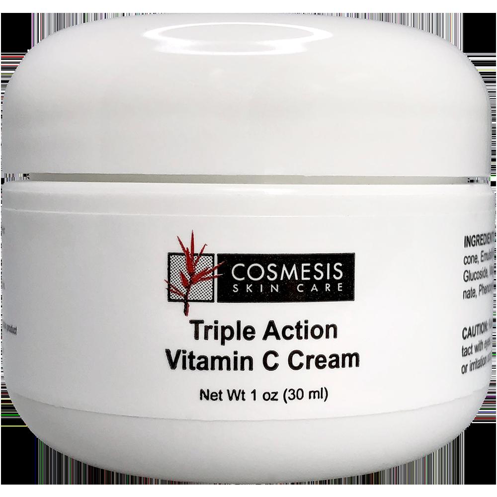 Triple Action Vitamin C Cream, 1 oz (30 ml)nohtin