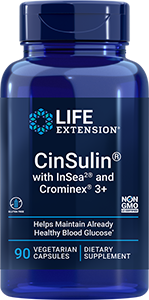 CinSulin® with InSea2® and Crominex® 3+