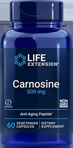 Carnosine, 500 mg, 60 vegetarian capsules