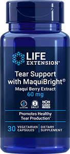 Tear Support with MaquiBright® Maqui Berry Extract, 60 mg, 30 vegetarian capsules