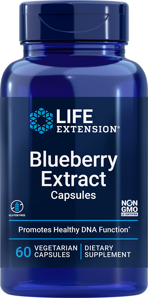 Blueberry Extract Capsules - Supports cognitive health, DNA function, and more