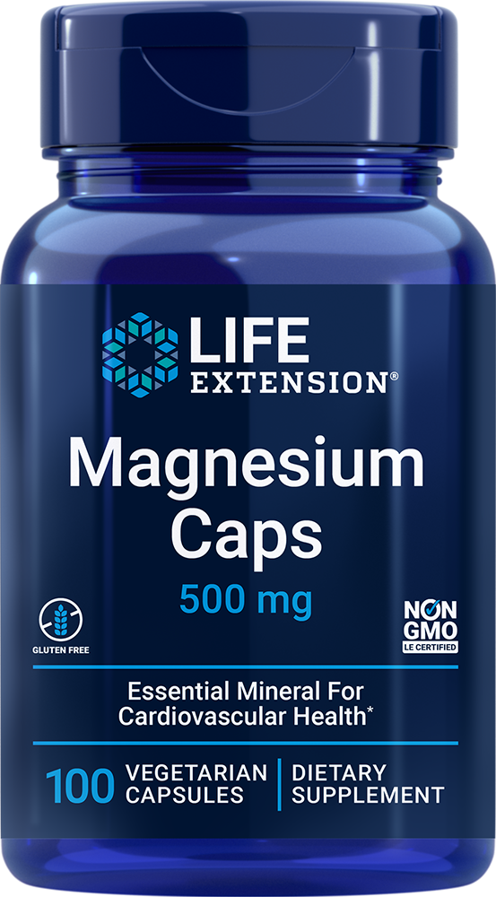 Magnesium Caps - Essential mineral for whole body health