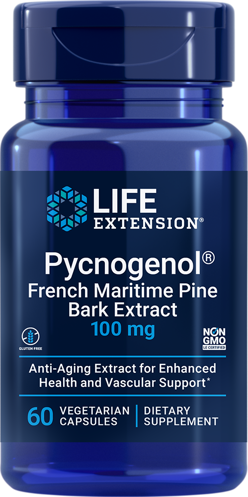 Pycnogenol® - Unique anti-aging extract for health and vascular support