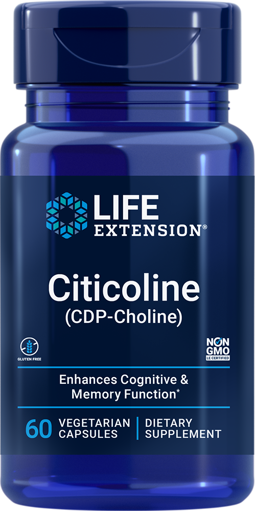 Cognizin® CDP-Choline Caps - Supports youthful cognitive function
