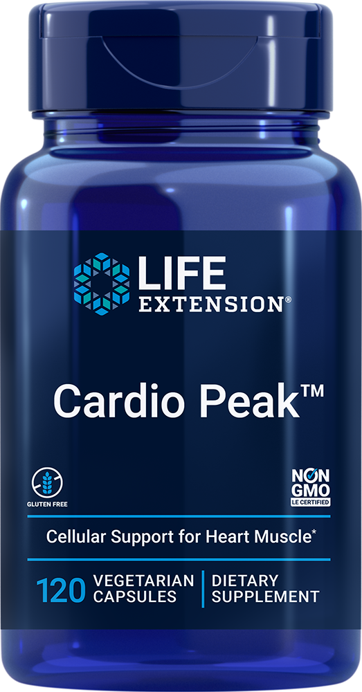 Cardio Peak™ with Standardized Hawthorn and Arjuna - Don't miss a beat with dual-action cardiotonic support