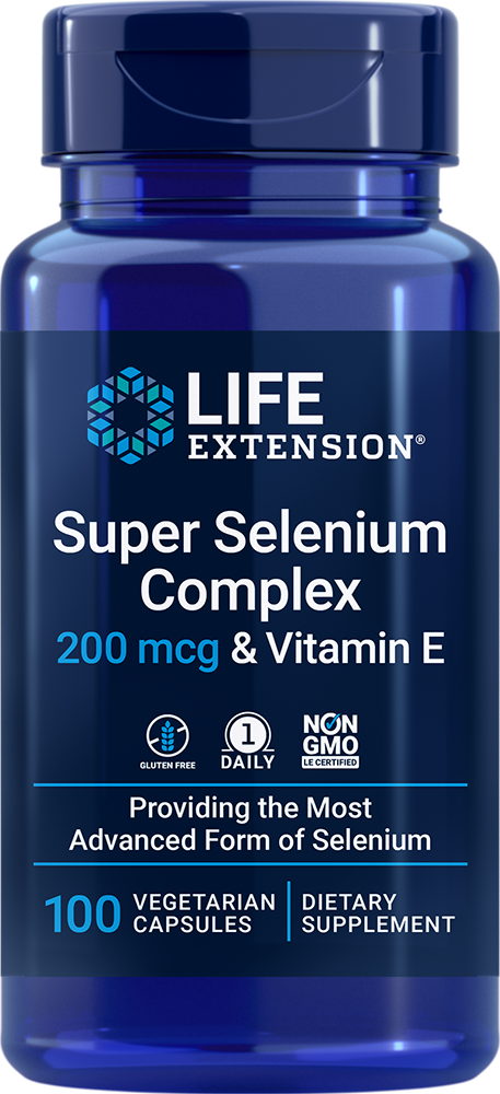 Super Selenium Complex - Supports cellular health with 3 forms of selenium