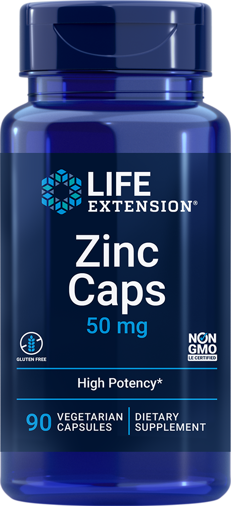 Zinc Caps - Support your body's natural immune defenses