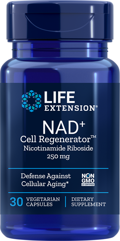NAD<sup>+</sup> Cell Regenerator™ - Get advanced defense against cellular aging