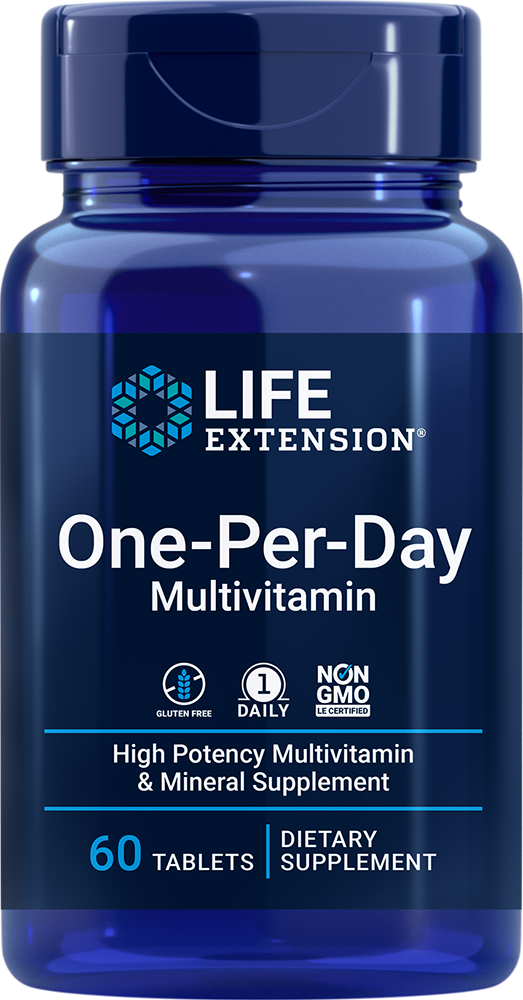 One-Per-Day Tablets - Once-daily multivitamin & mineral supplement