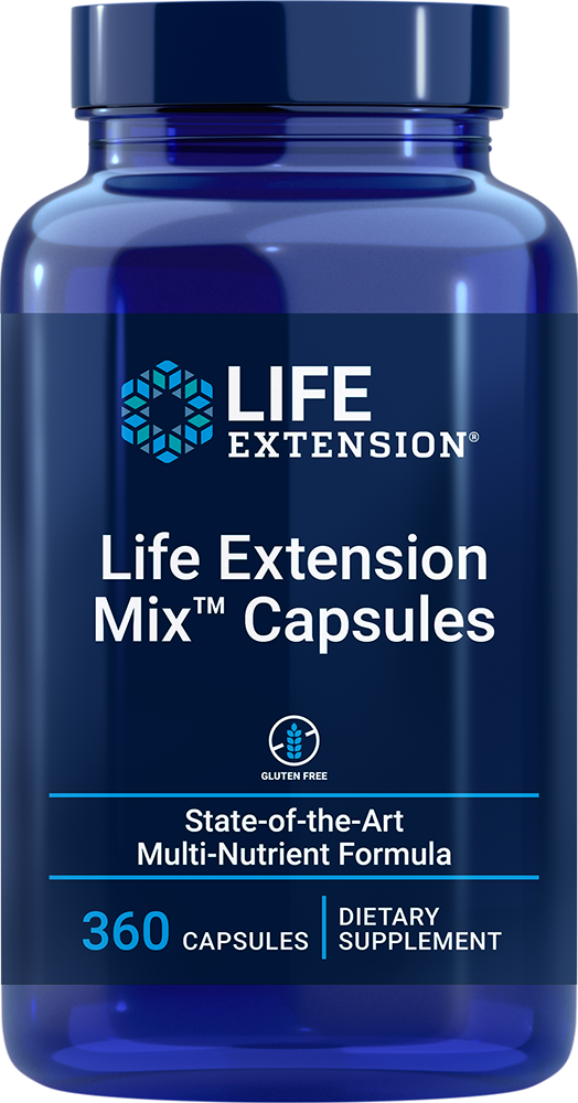 Life Extension Mix™ Capsules - State-of-the-art multi-nutrient formula