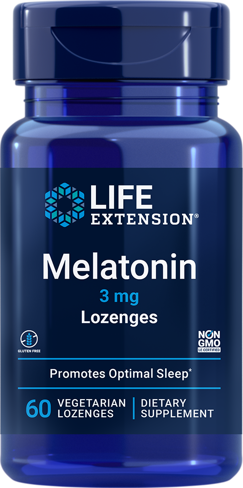 Melatonin - Sleep & cellular health support in a dissolvable lozenge
