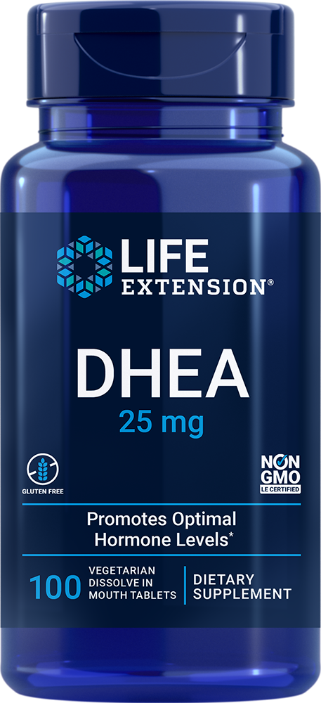 DHEA - Dissolvable tablets support hormone balance and more