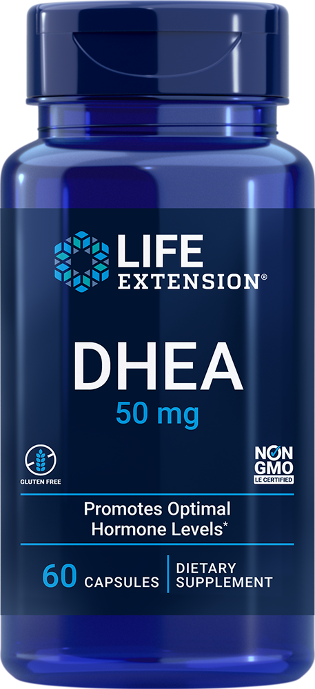 DHEA - Supports healthy hormone balance and overall health