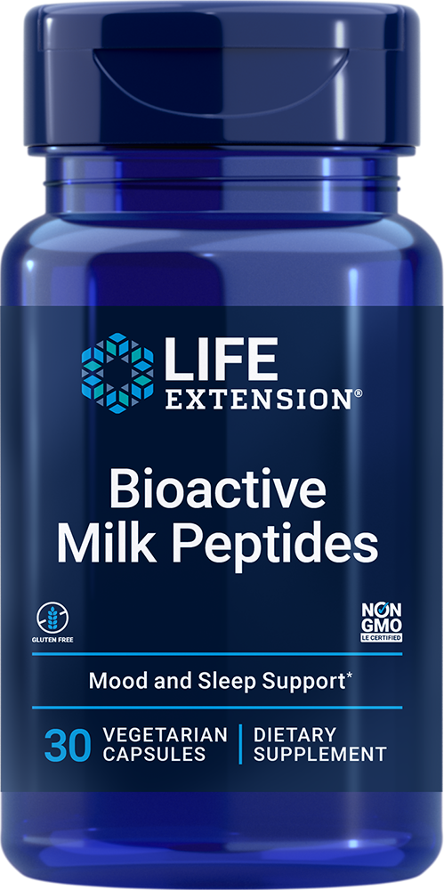 Bioactive Milk Peptides - Promotes relaxation