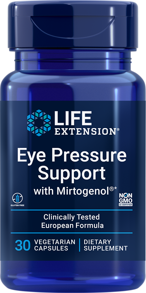 Eye Pressure Support with Mirtogenol® - Supports eye pressure already within normal range