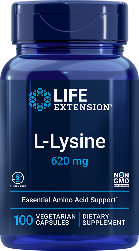 L-Lysine - Essential amino for healthy nitrogen balance and more