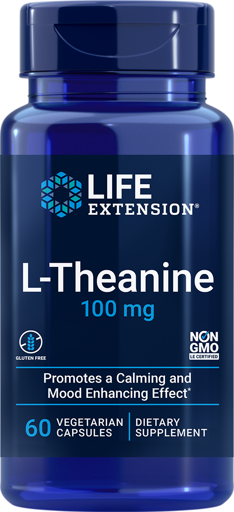 L-Theanine - Promotes a calming and mood-enhancing effect