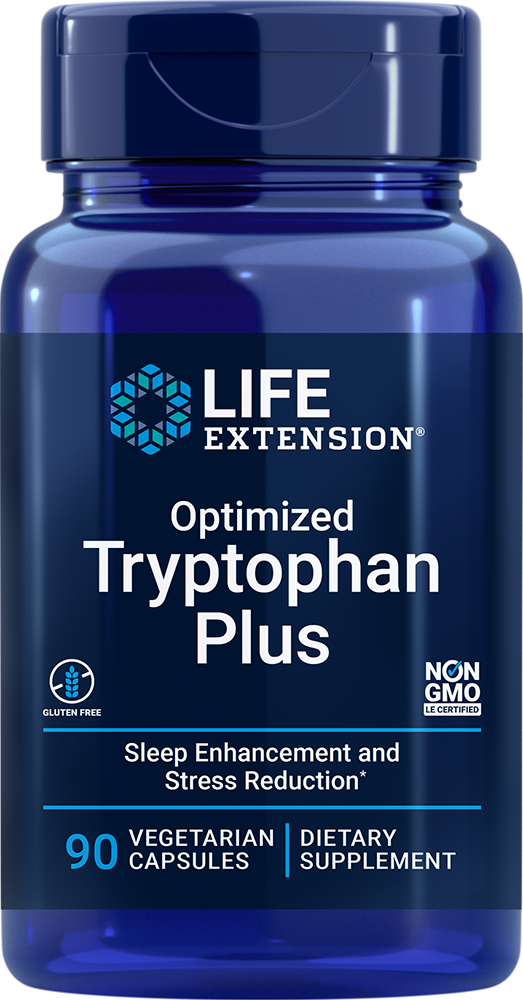 Optimized Tryptophan Plus - Enhanced support for healthy sleep, mood, response to stress, and satiety