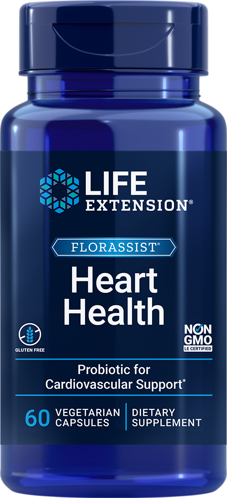 FLORASSIST® Heart Health - When choosing a probiotic, follow your heart